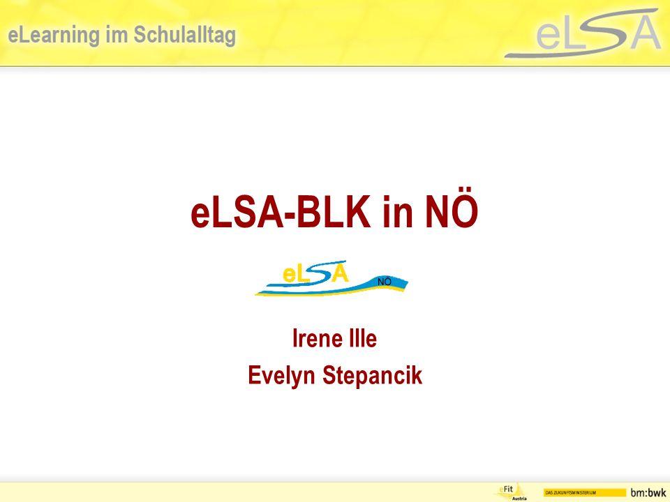 Start: eLSA-BLK Erstes ausführliches Gespräch mit LSI Rainer Ristl / Irene Ille / Evelyn Stepancik am 6.