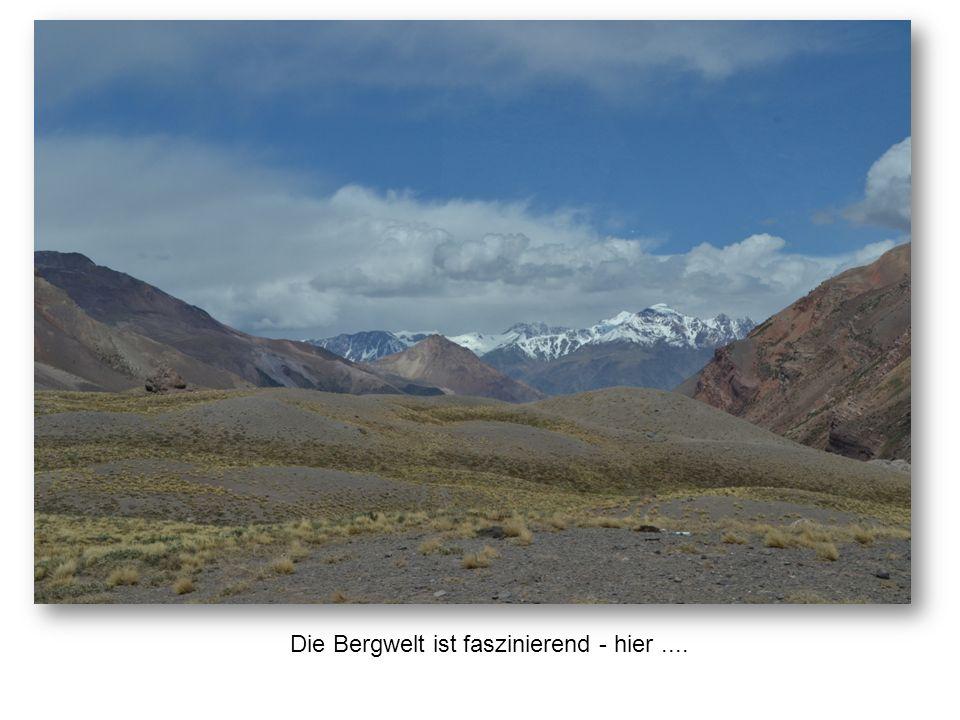 Die Bergwelt ist faszinierend - hier....