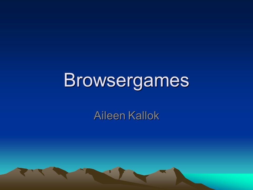 Browsergames Aileen Kallok