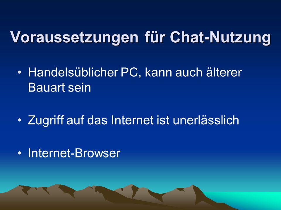 Arten des Chats der Internet-Relay-Chat (IRC) der Web-Chat Instant-Messaging