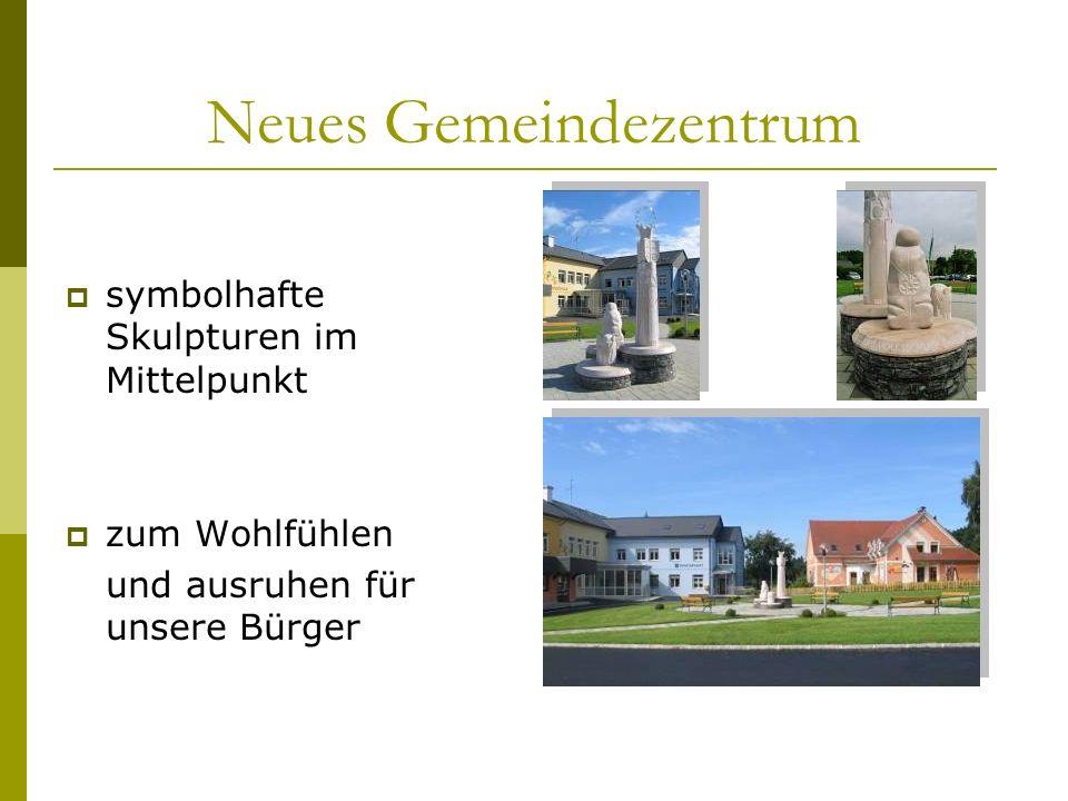 Volksschule/Gemeindeamt renoviert und auf dem technisch neuesten Stand Vierklassige Volksschule