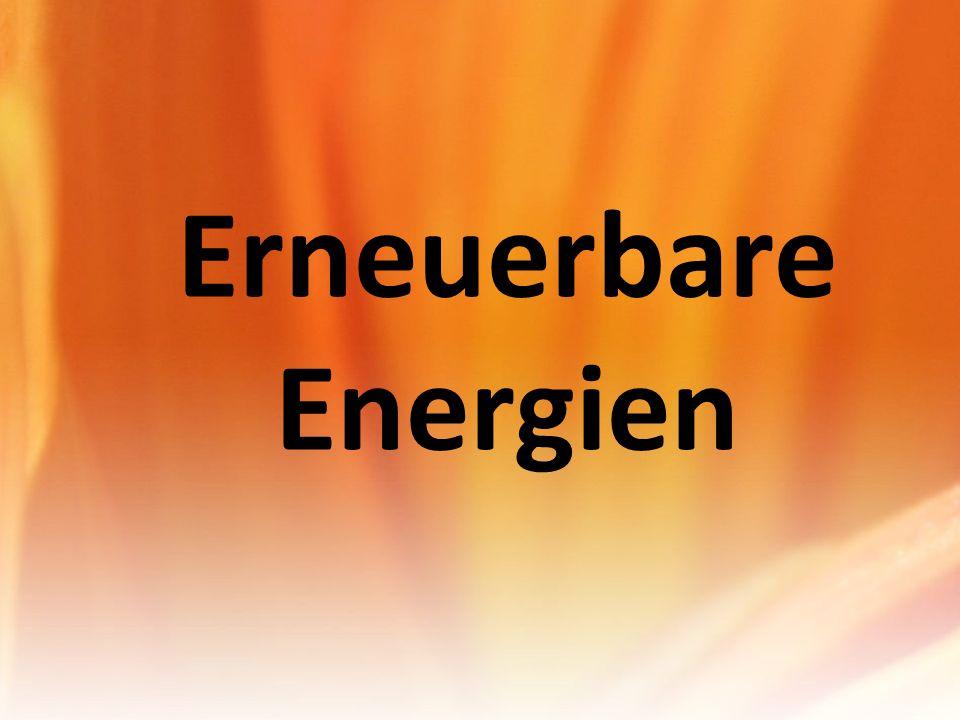 Warum erneuerbare Energien?