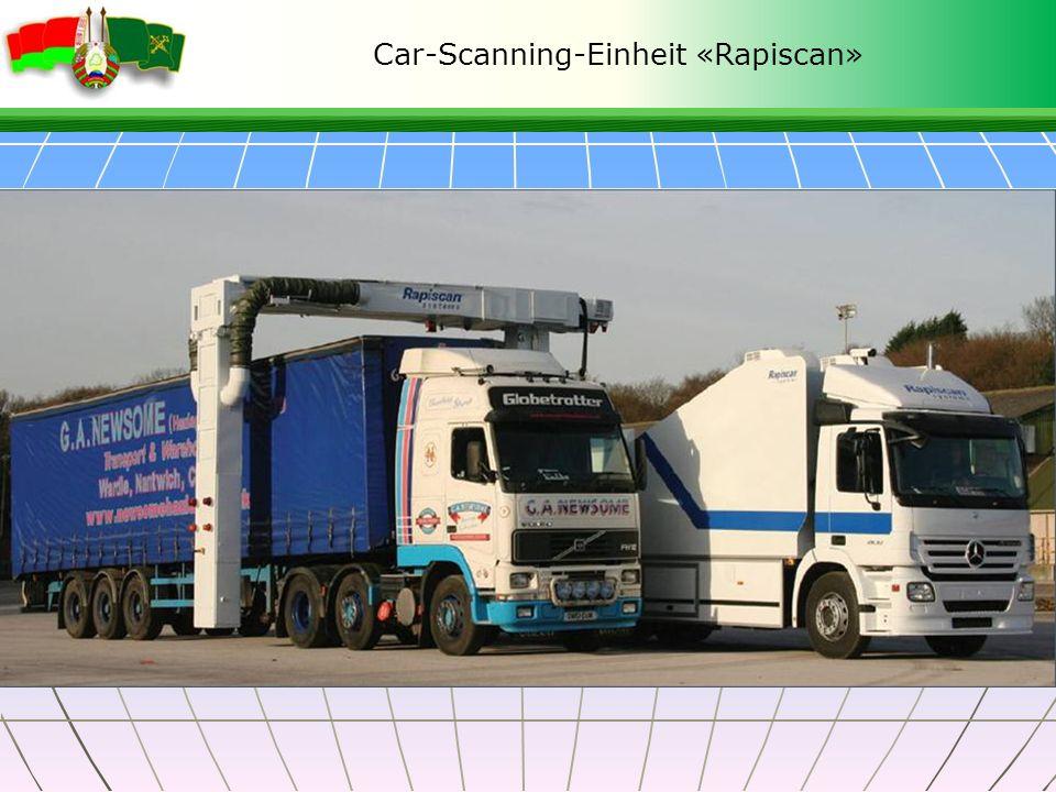 Car-Scanning-Einheit «Rapiscan»