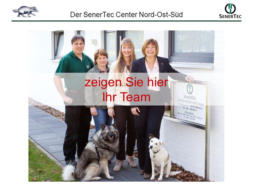 Der SenerTec Center Nord-Ost-Süd zeigen Sie hier Ihr Team