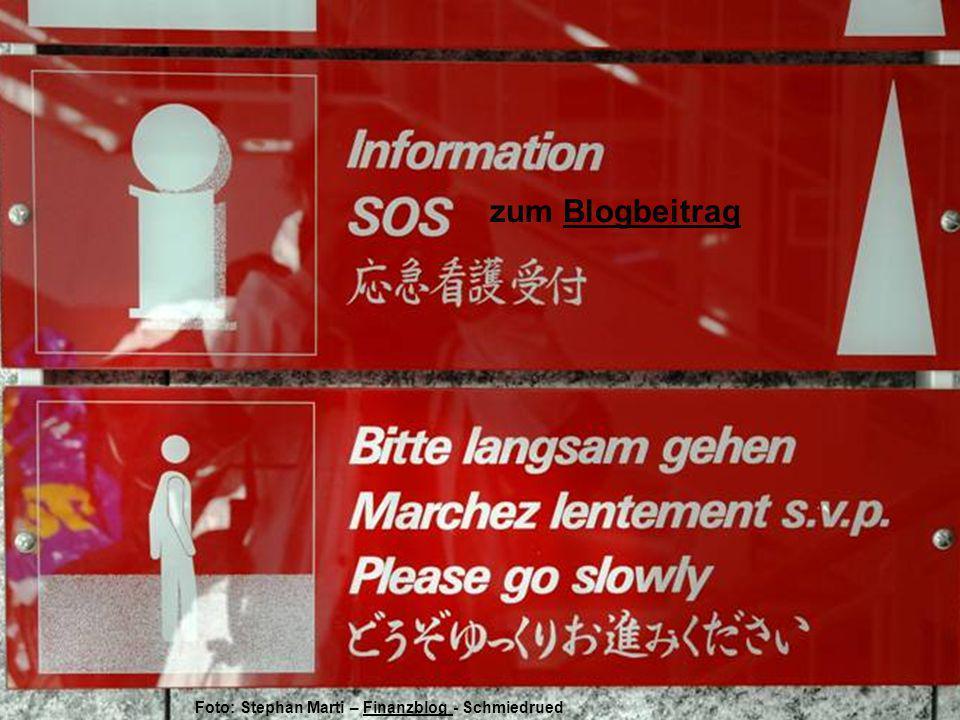 Hörbie wird es freuen, schneller nach Luzern zu kommen – zum BeitragBeitrag Foto Stephan Marti SMS - Finanzblog Finanzblog