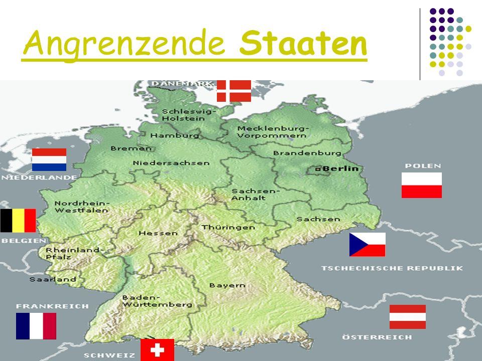 Angrenzende Staaten