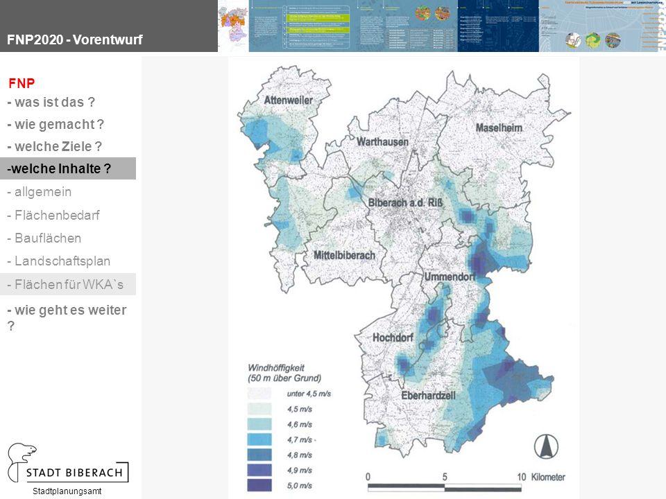 FNP2020 - Vorentwurf Stadtplanungsamt FNP - was ist das .
