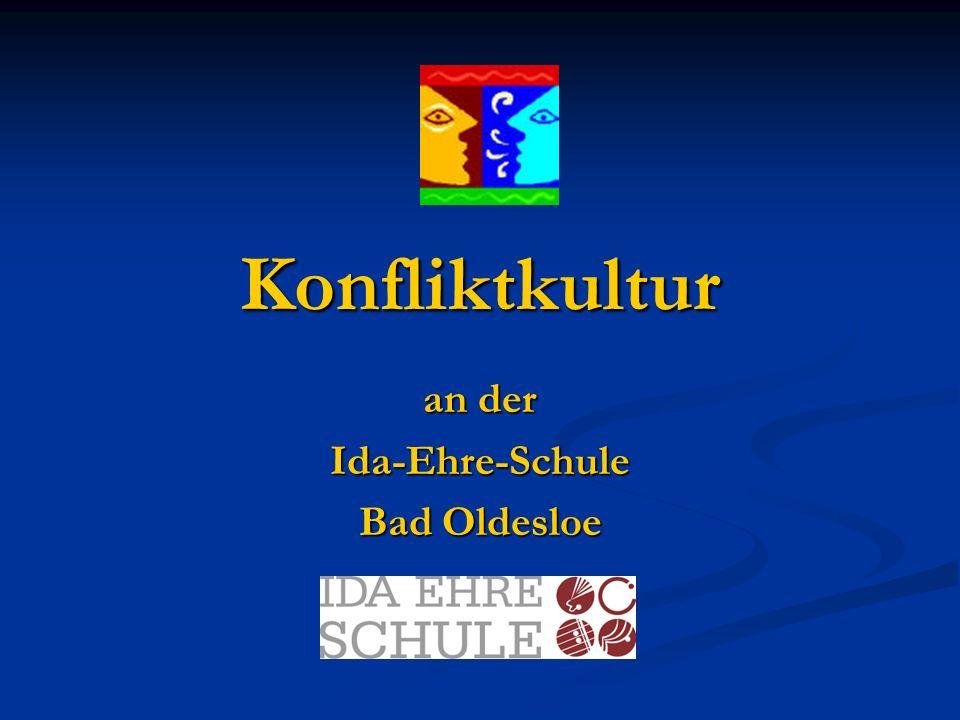 Konfliktkultur an der Ida-Ehre-Schule Bad Oldesloe