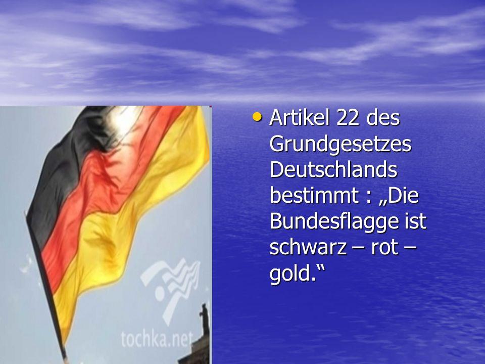 Im August 1991 bestätigen der Bundespräsident Richard von Weizsäcker und Bundeskanzler Helmut Kohl die dritte Strophe des Liedes der Deutschen als die Nationalhymne des deutschen Volkes.