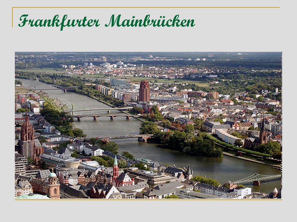 Frankfurter Mainbrücken