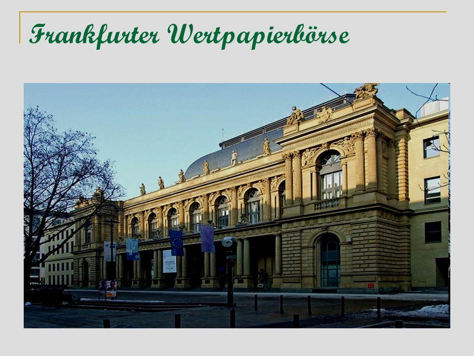 Frankfurter Wertpapierbörse