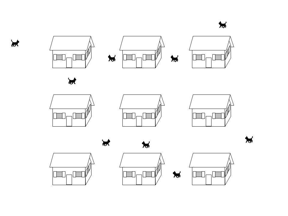 Das Ganze erinnert etwas an ein Quartier mit lauter Einfamilienhäusern (= Atomrümpfe).