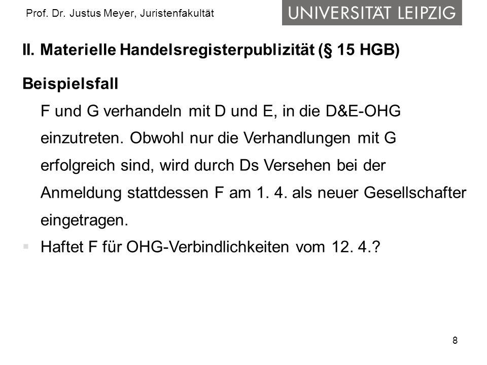 9 Prof.Dr. Justus Meyer, Juristenfakultät II.
