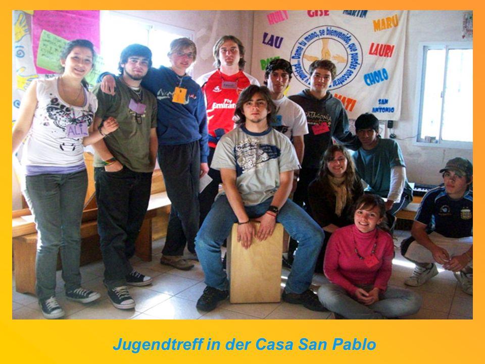 Jugendtreff in der Casa San Pablo
