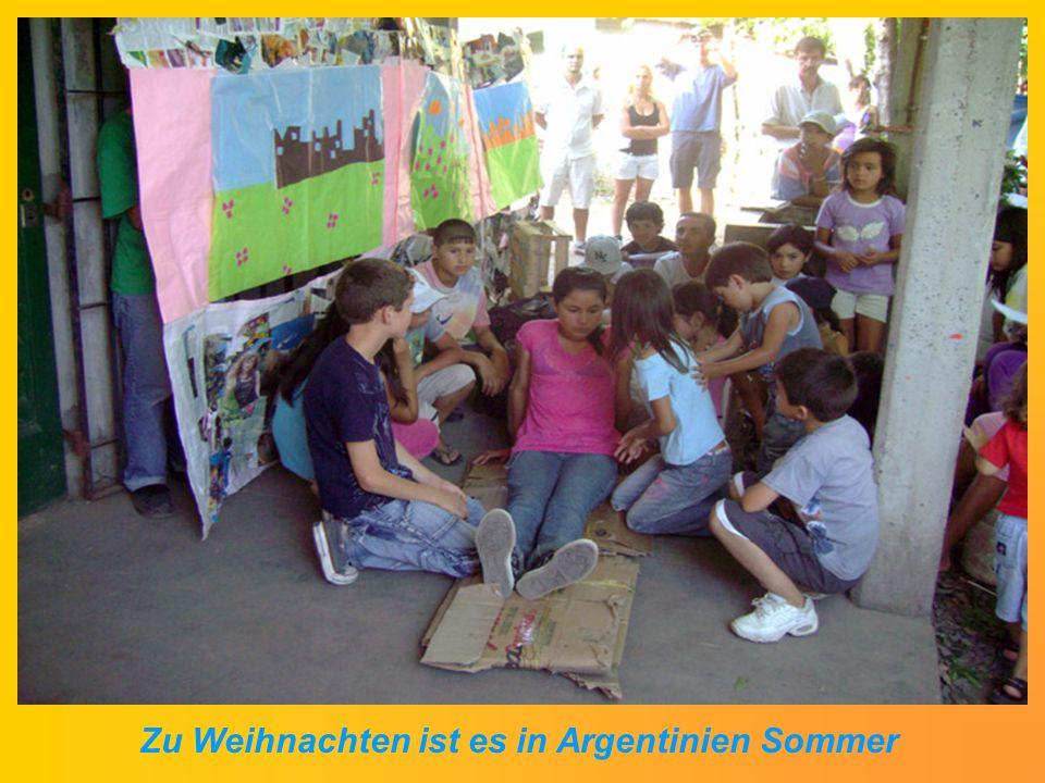 Zu Weihnachten ist es in Argentinien Sommer