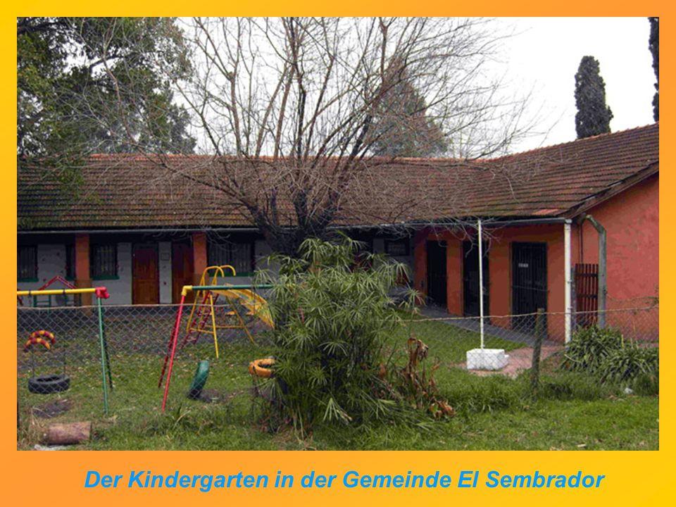 Der Kindergarten in der Gemeinde El Sembrador
