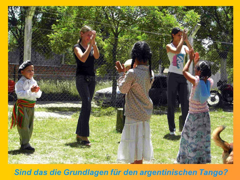 Sind das die Grundlagen für den argentinischen Tango