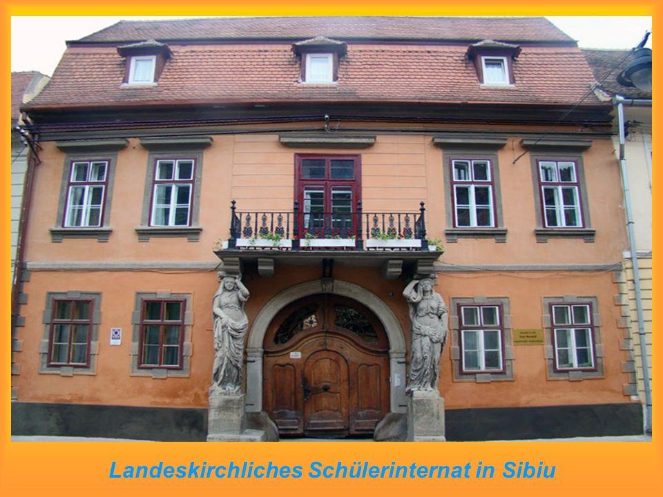 Landeskirchliches Schülerinternat in Sibiu