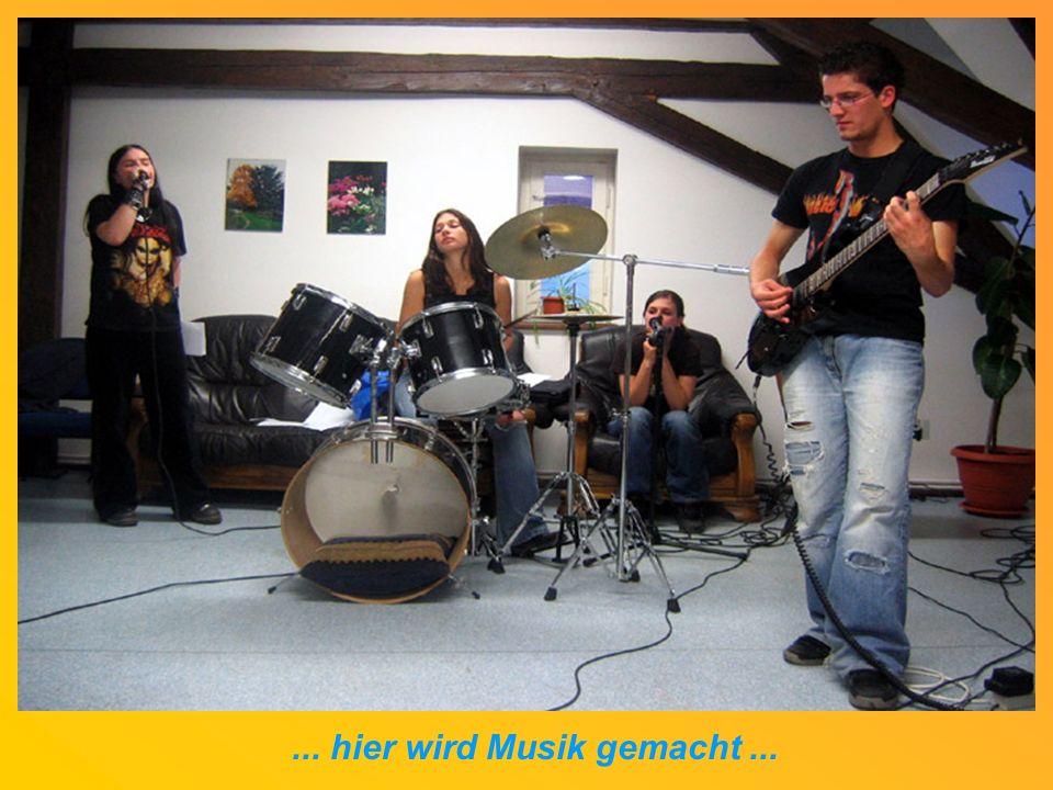... hier wird Musik gemacht...