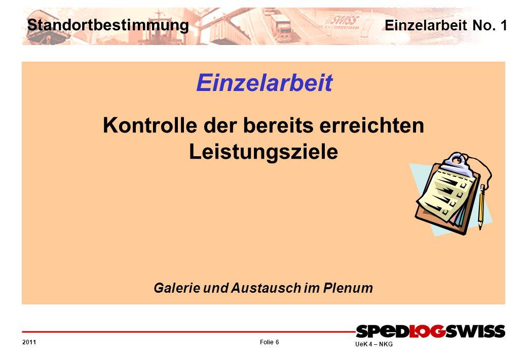 Folie 47 2011 UeK 4 – NKG Information über das Prüfungskonzept Mündliche Lehrabschlussprüfung