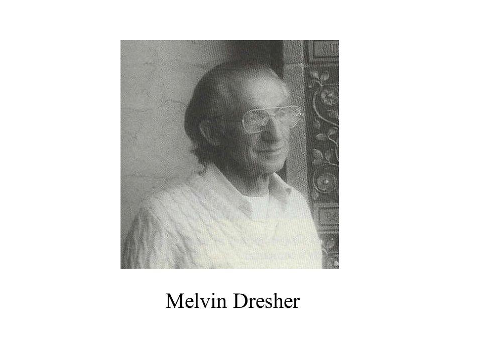 Melvin Dresher