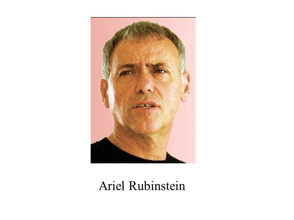 Ariel Rubinstein