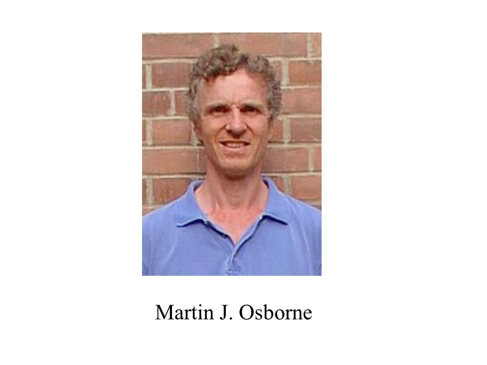 Martin J. Osborne