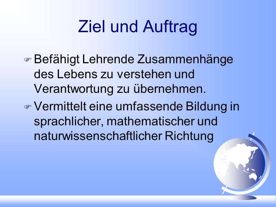 Schlusspunkt Sekundarschule im Dorf.Breitabgestützte Allgemeinbildung.