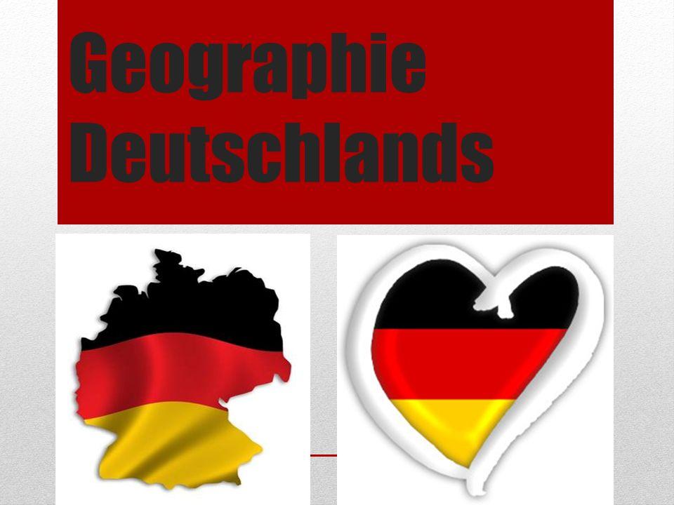Geographie Deutschlands