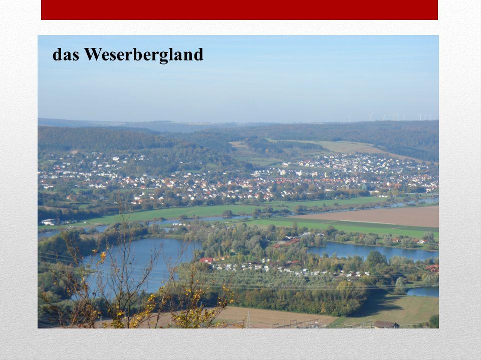 das Weserbergland
