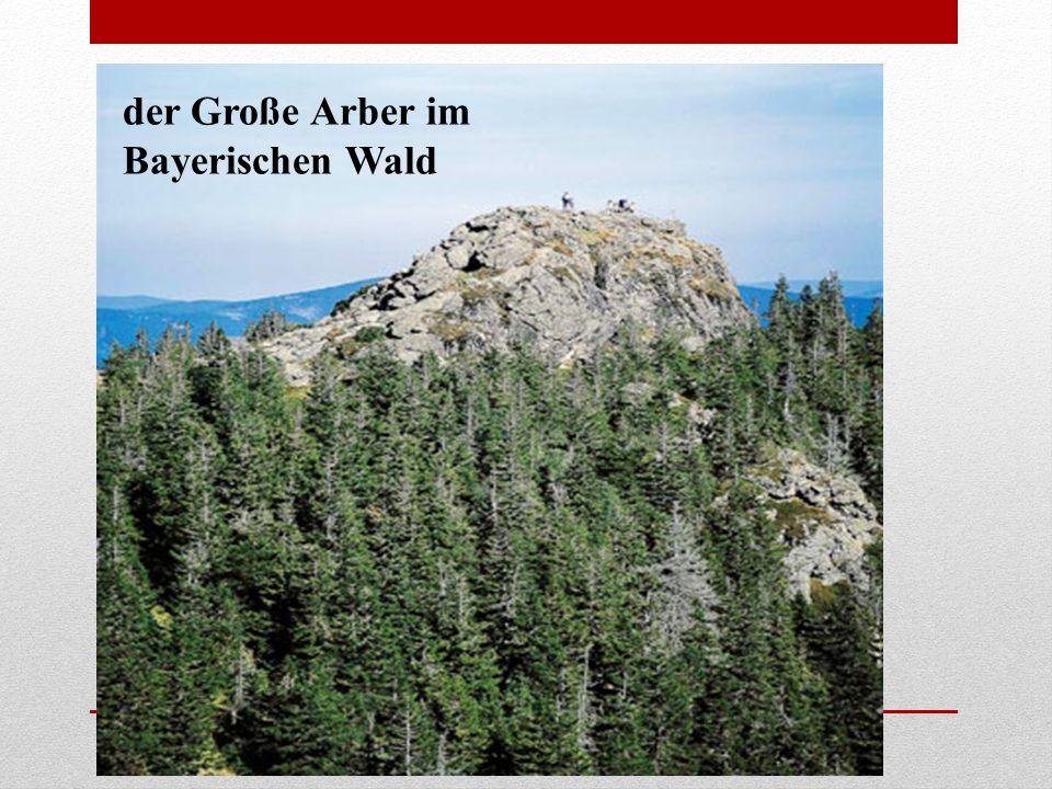 der Große Arber im Bayerischen Wald