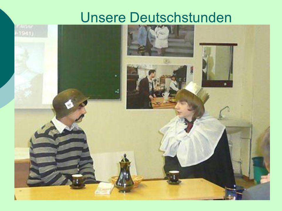 Unsere Deutschstunden