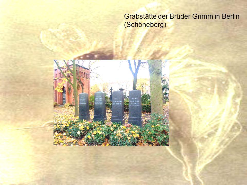 Werke Gemeinsame Werke: Kinder- und Hausmärchen.2 Bände 1812, 1815 Deutsche Sagen.