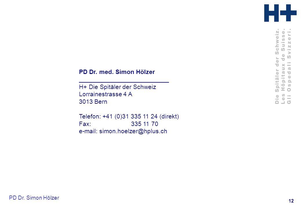 12 PD Dr.Simon Hölzer PD Dr. med.