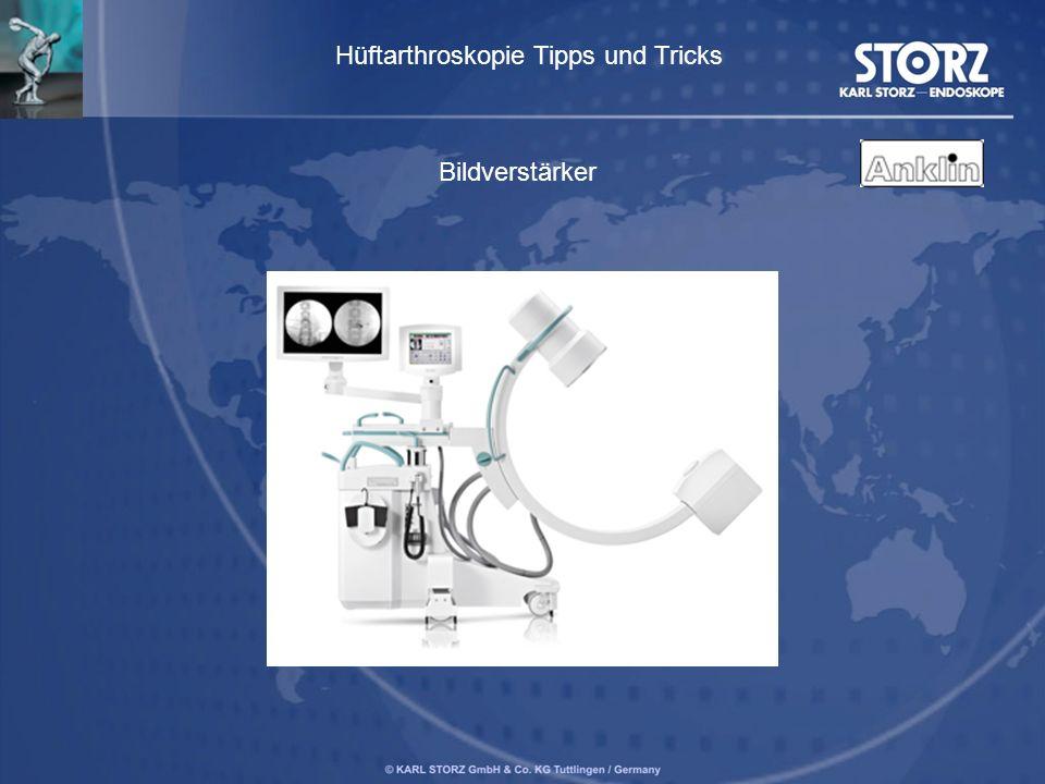 Bildverstärker Hüftarthroskopie Tipps und Tricks