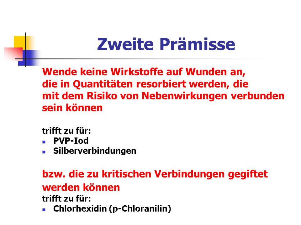 Antimikrobielle Wirksamkeit in vitro Wachstumsfreie Zone Naht 14,5 cm 3 für S.