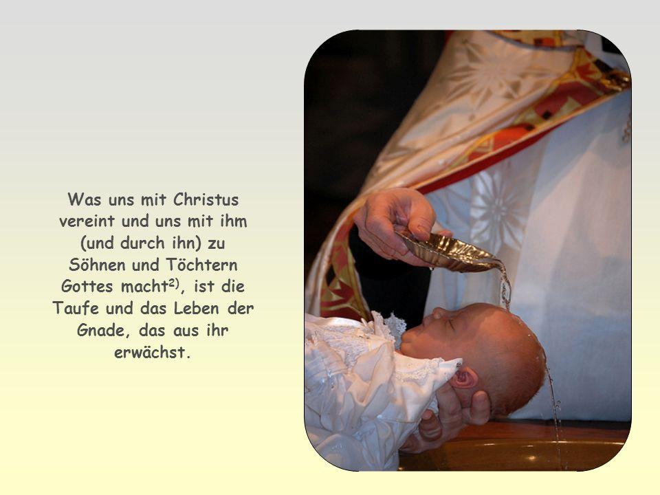 Allen, die ihn aufnahmen, gab er Macht, Kinder Gottes zu werden.