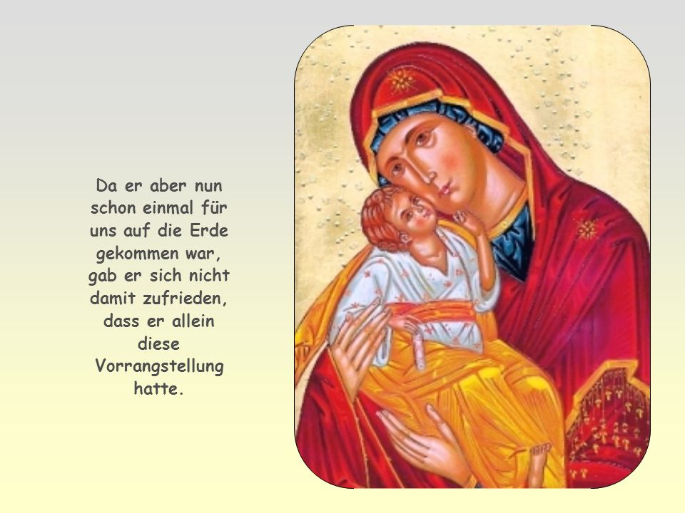 Schauen wir dazu auf Jesus, den Sohn Gottes, und auf seine Beziehung zum Vater. Jesus nannte seinen Vater im Gebet unseren Vater. Er redete ihn mit Ab