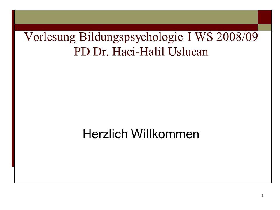 51 (Vgl. Woolfolk, 2008)