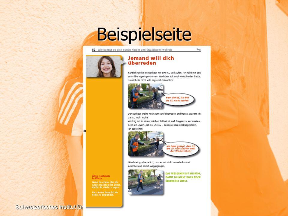 Schweizerisches Institut für Gewaltprävention (SIG)www.sig-online.ch Beispielseite