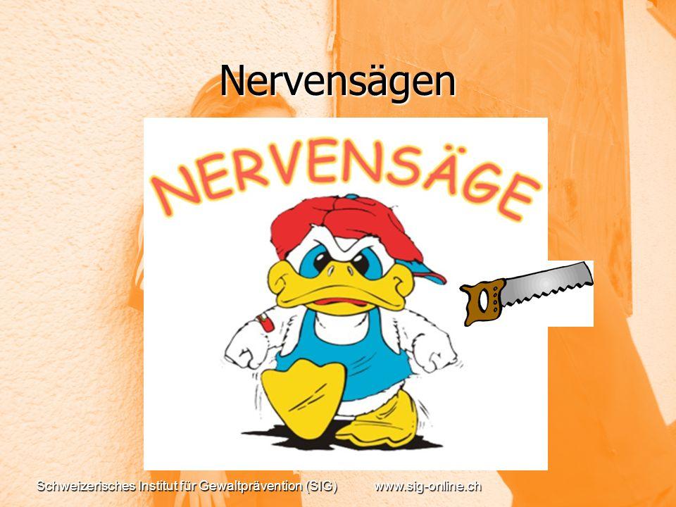Nervensägen