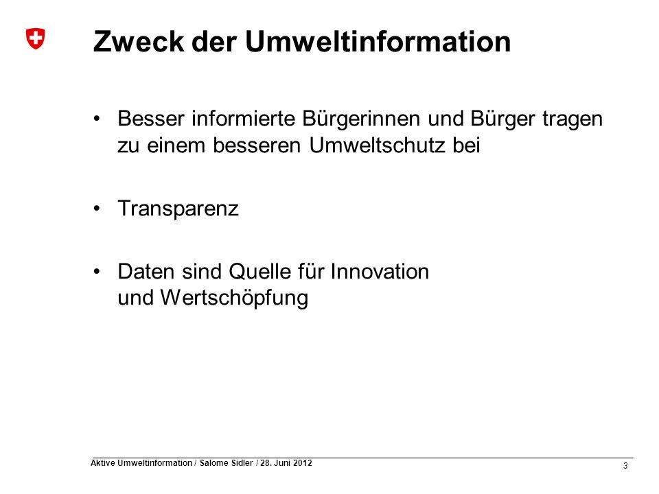 3 Aktive Umweltinformation / Salome Sidler / 28.