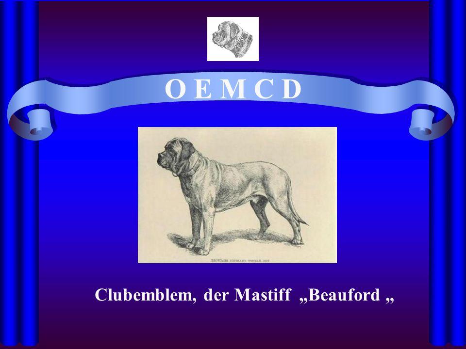 O E M C D Clubemblem, der Mastiff Beauford