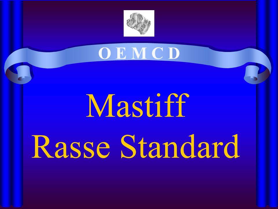 Mastiff Rasse Standard