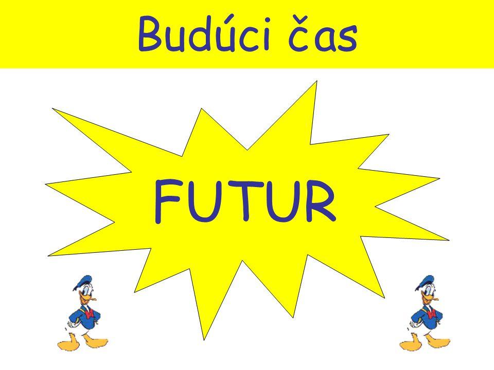 Budúci čas FUTUR