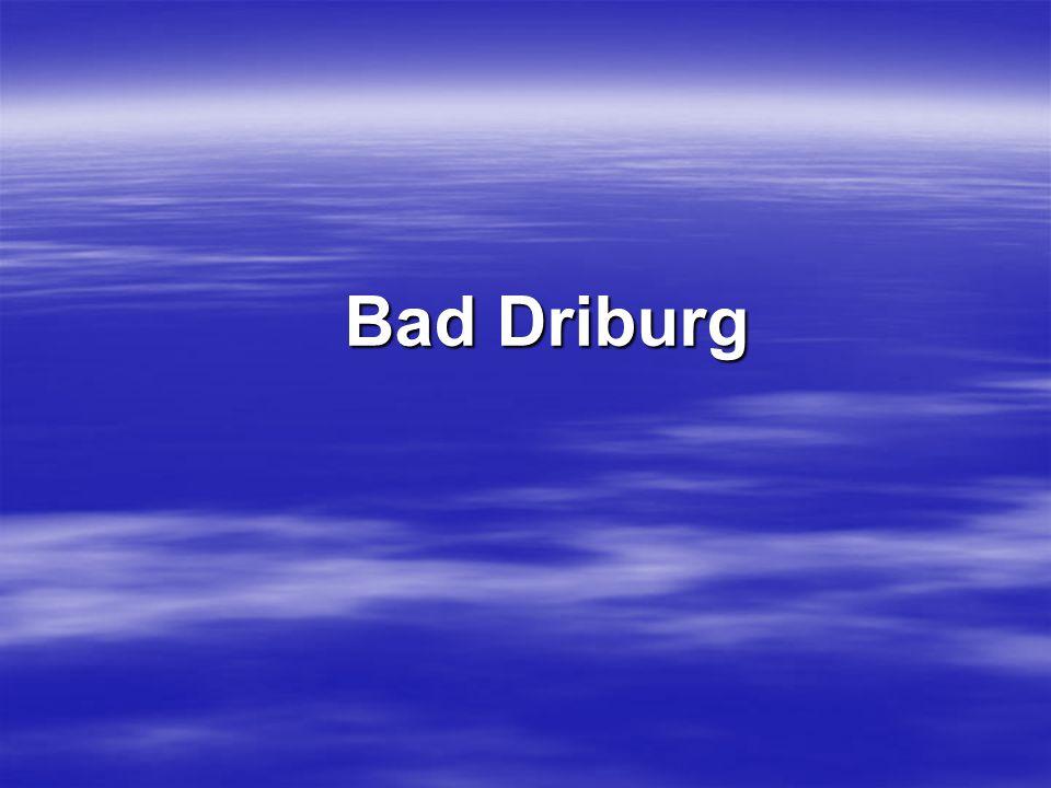 Bad Driburg Bad Driburg