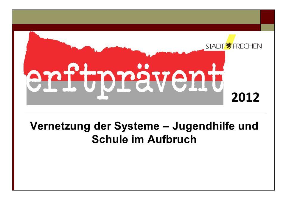 2012 Vernetzung der Systeme – Jugendhilfe und Schule im Aufbruch