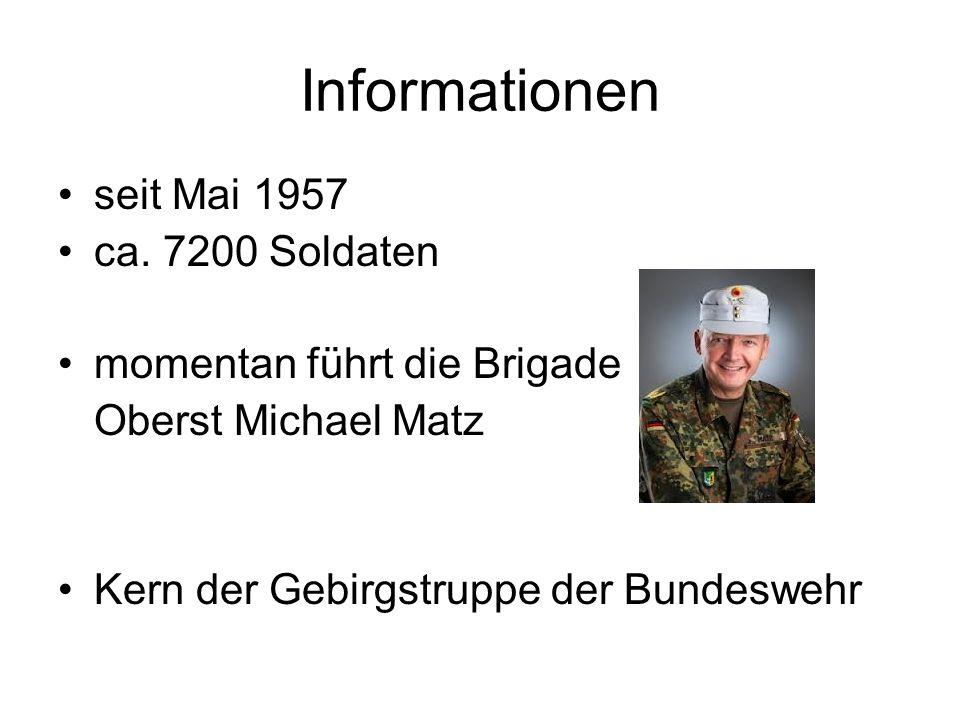 Gebirgsjägerbrigade 23 Von-Martius-Str. 7 83435 Bad Reichenhall