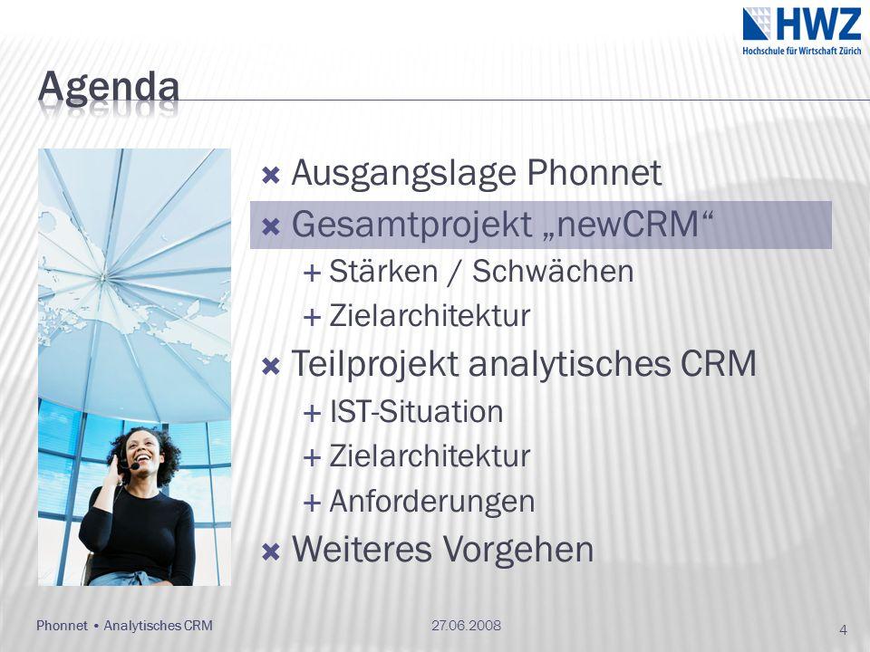 27.06.2008Phonnet Analytisches CRM 35