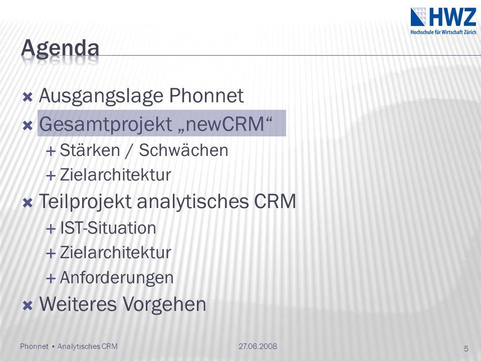 Phonnet Analytisches CRM27.06.2008 36
